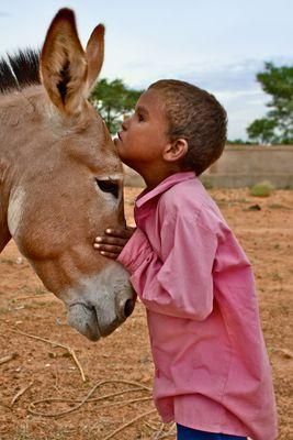 Tuareg-Kind