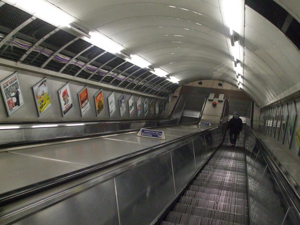 Tube at nigth