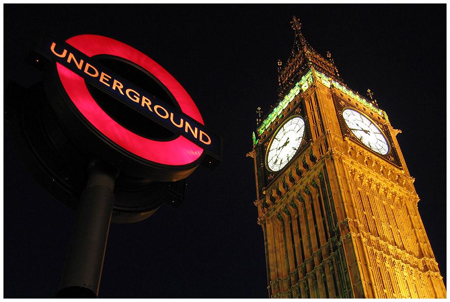 Tube Westminster.