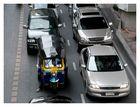 Tuc Tuc in Traffic Jam