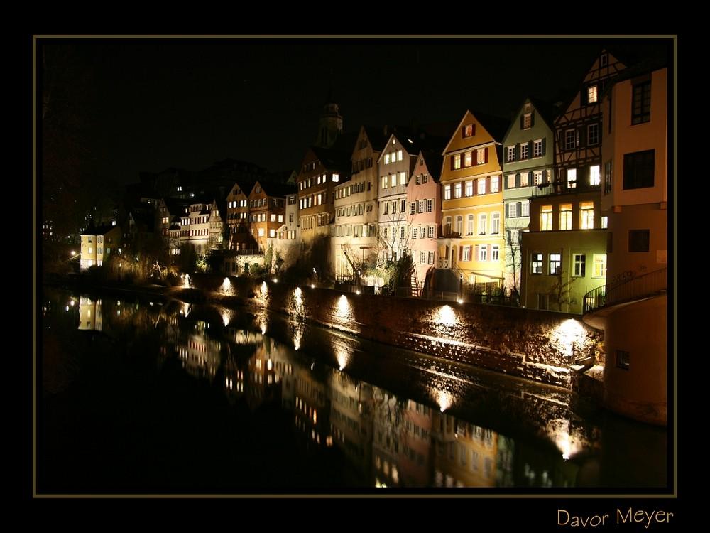 Tübingen bei Nacht