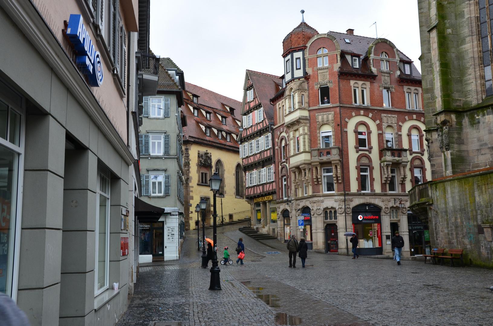Tübingen bei Regen