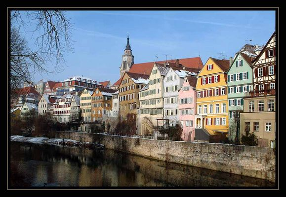 Tübingen im Winter