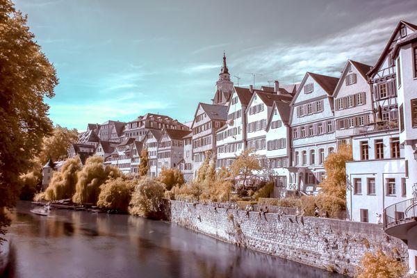Tübingen in Infrarot
