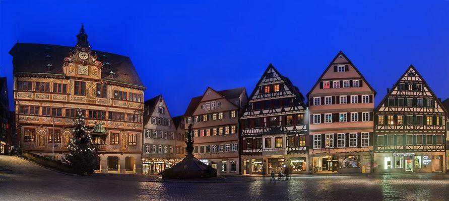 Tübingen mir Rathaus