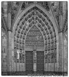 Tür am Kölner Dom