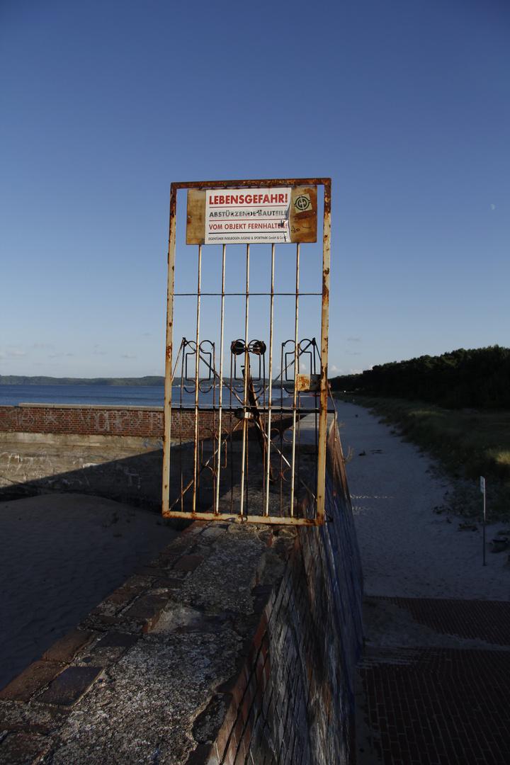 Tür am Meer