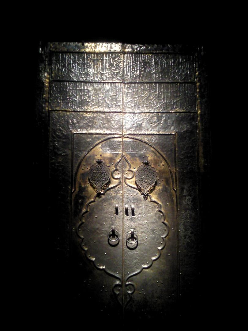 Tür der Kaaba, door of the Kaaba