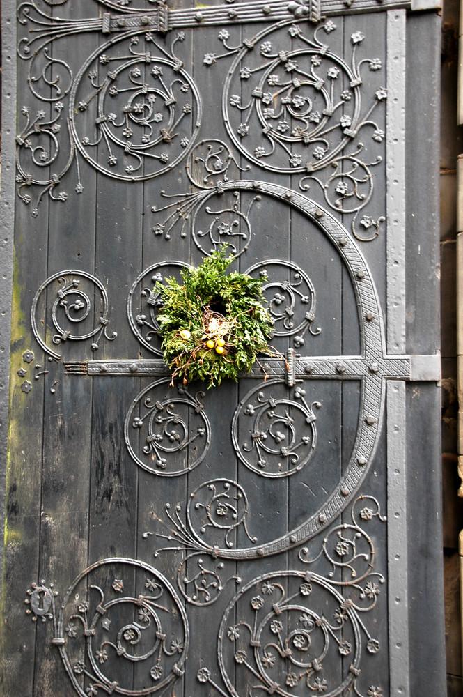 Tür der Nikolaikirche