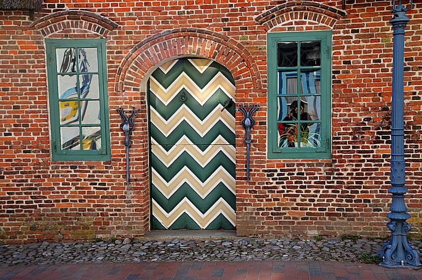 TÜR - Eiderstedter Museum in SPO Dorf