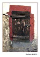 Tür in Braubach