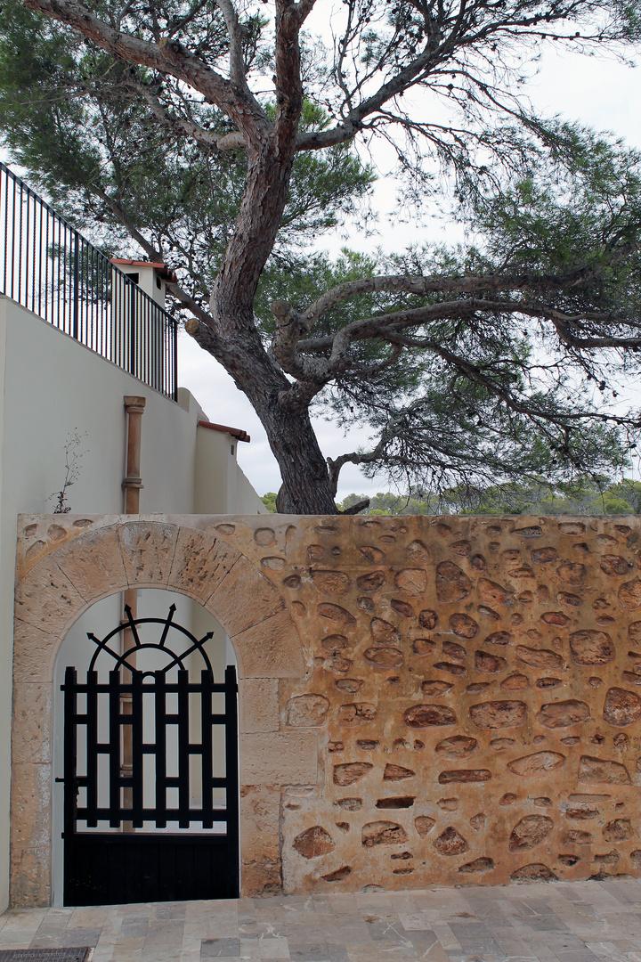 Tür in Cala Figuera