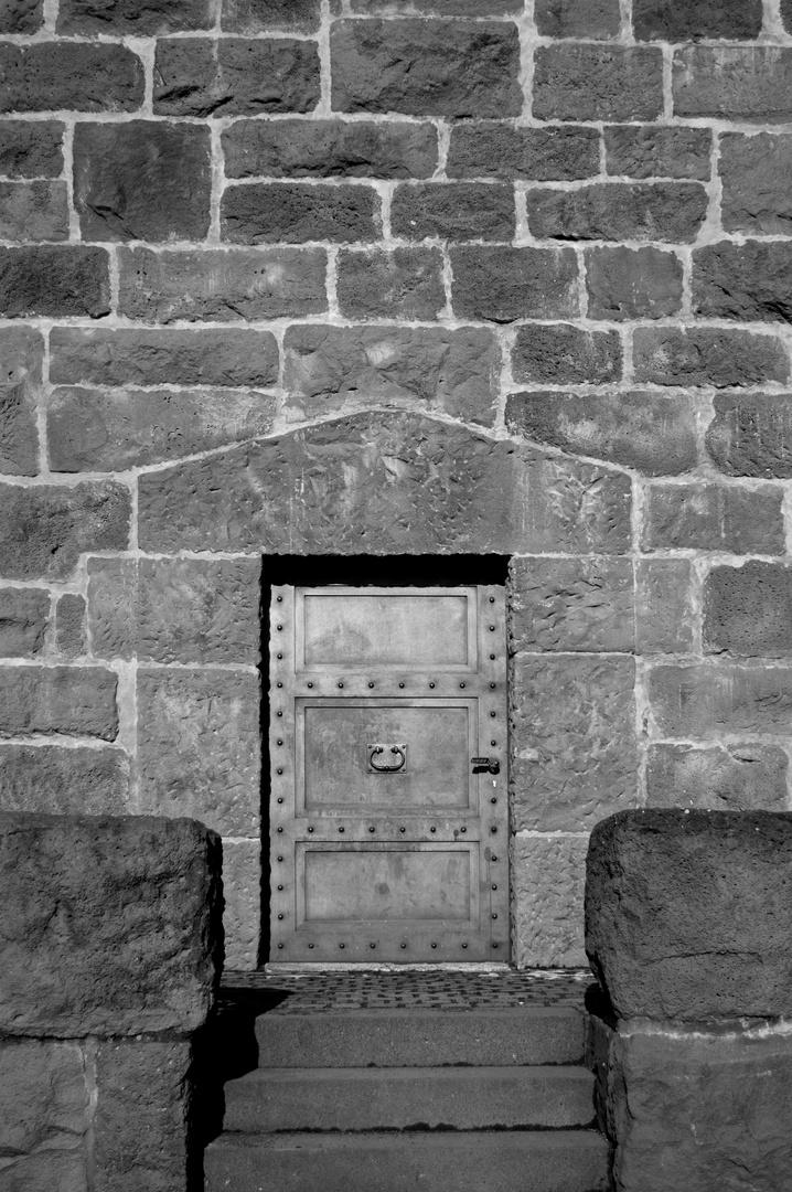 Tür in den Turm