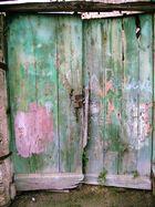 Tür in einer italienischen Seitenstrasse