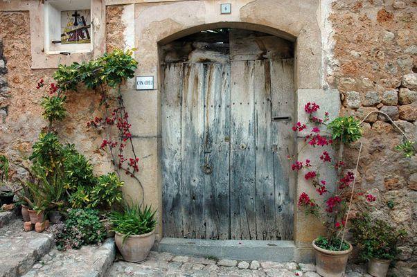 Tür in Fornalutx (Mallorca)