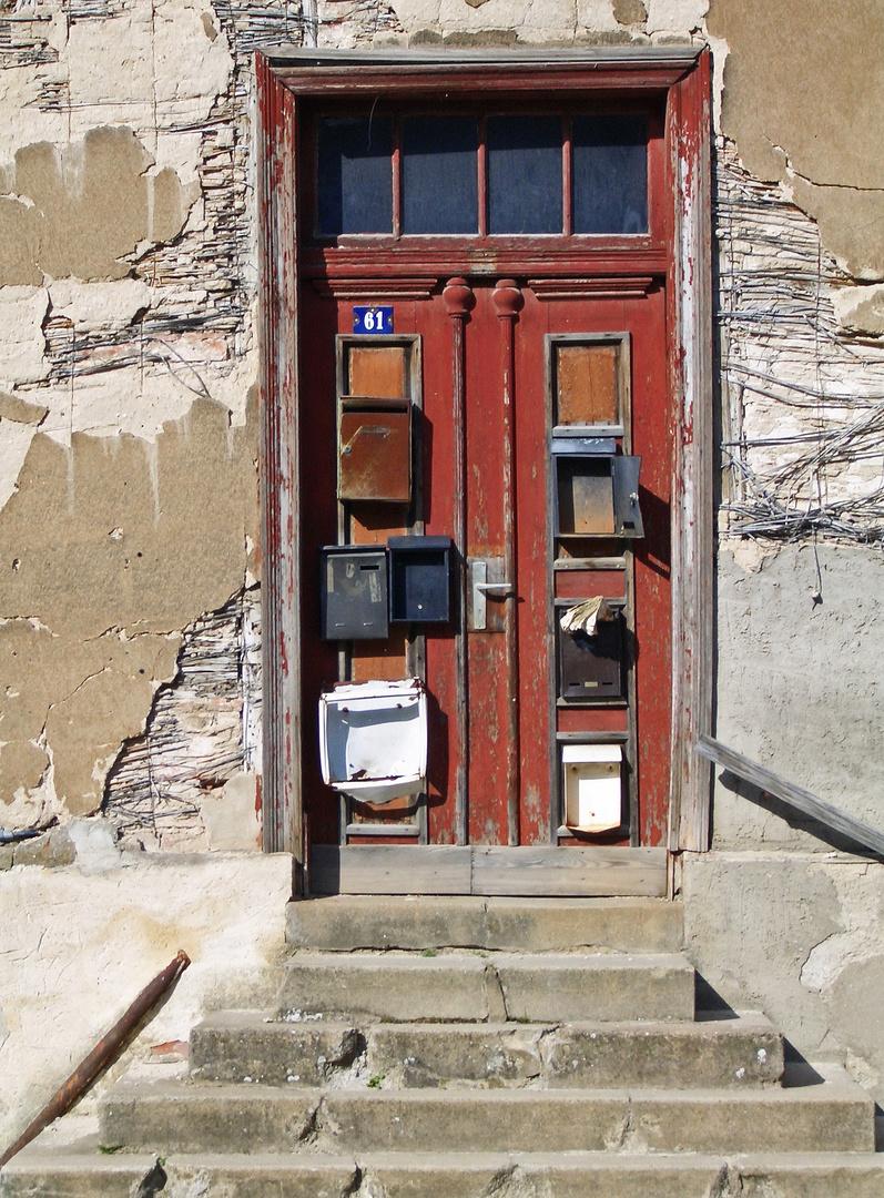 Tür in Neustrelitz