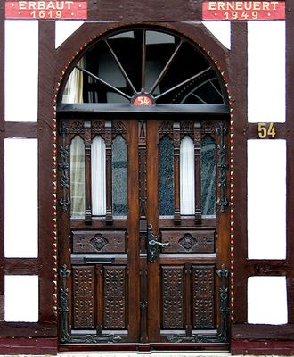 Tür in Rheda-Wiedenbrück