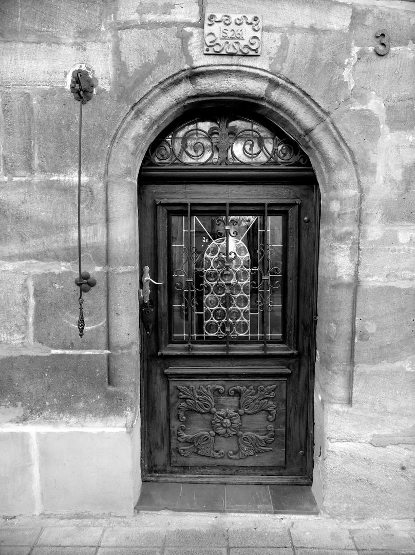 Tür in S/W
