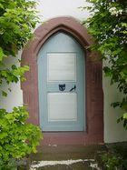 Tür in Zwingenberg