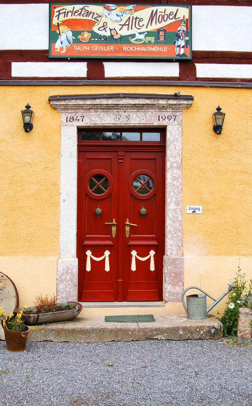 Tür Rochhausmühle