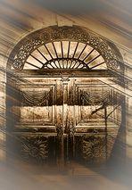 Tür vom Schloss