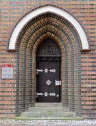 Tür zum Kalandhaus