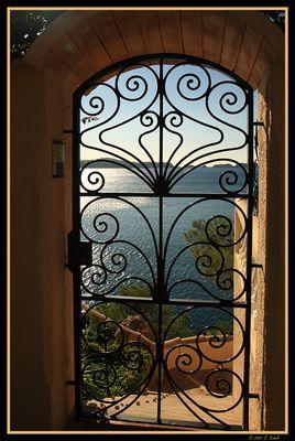 Tür zum Sonnenstrand