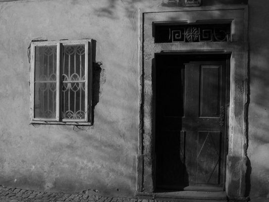 Tür zur Vergangenheit