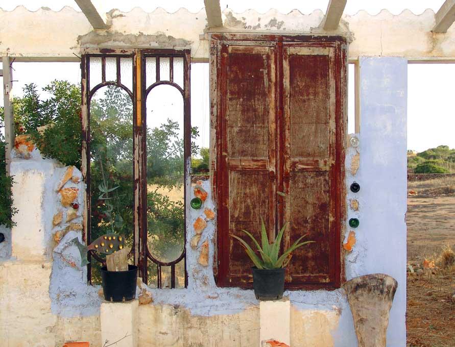 Türe zum Garten