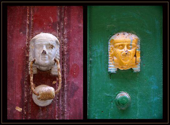 Türen in Kerkyra