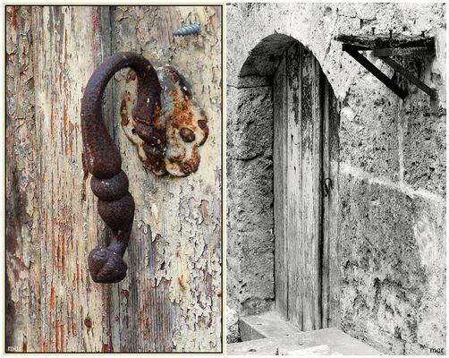 Türgriff, Tür und Podest