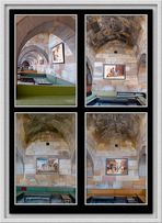 Türkei - Karawanserei Saruhan - Seitennischen mit Gemälden