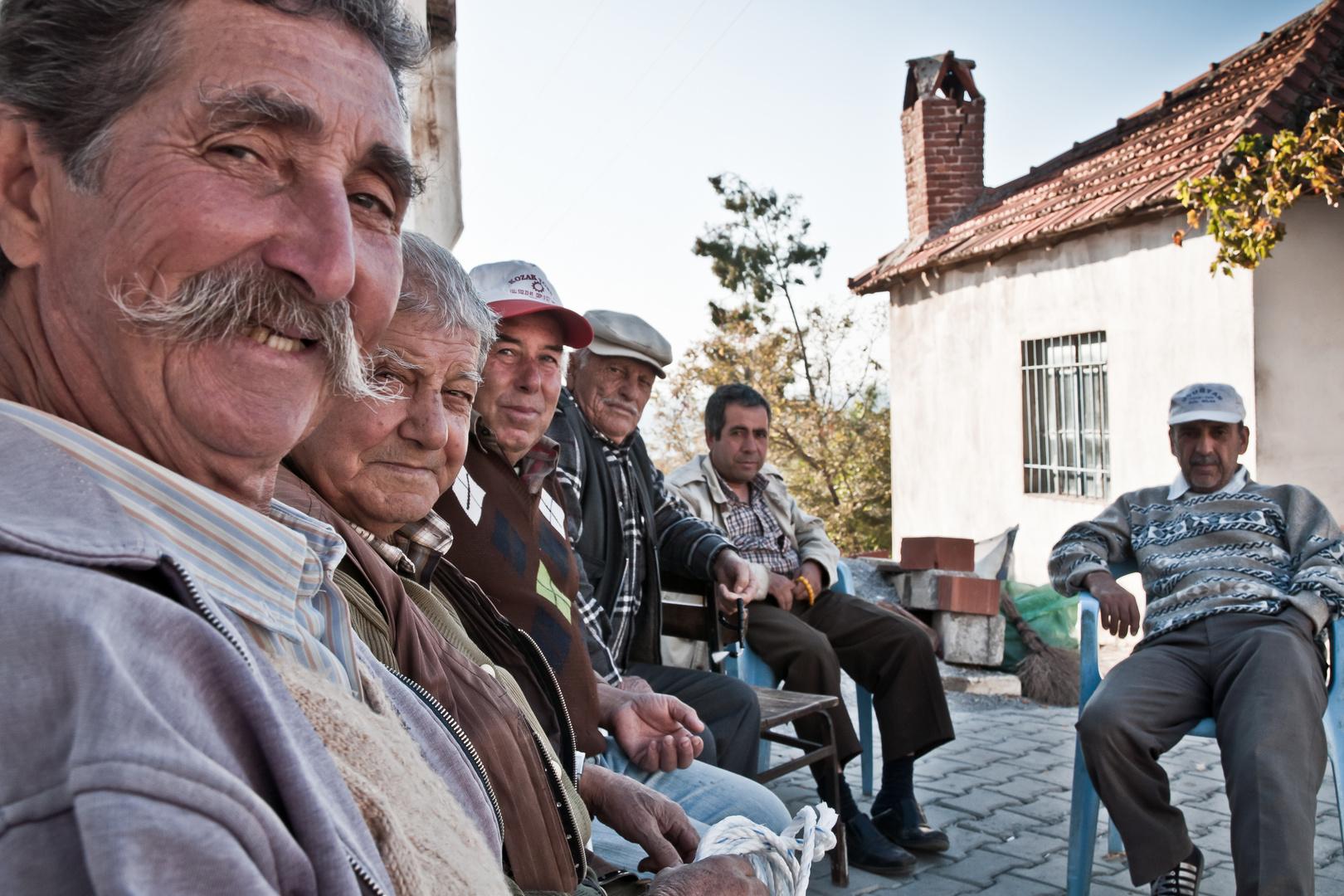 Türkei - vor dem Teehaus