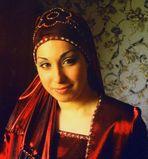 Türkische Braut beim Henna-Fest