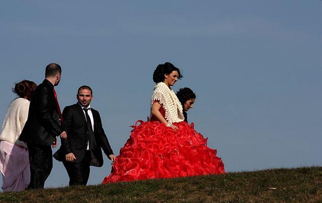 Türkische Hochzeit im Rheinpark
