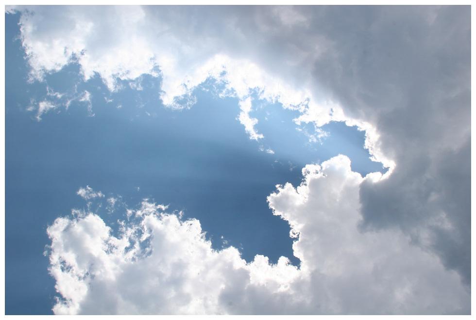 Türkische Wolken