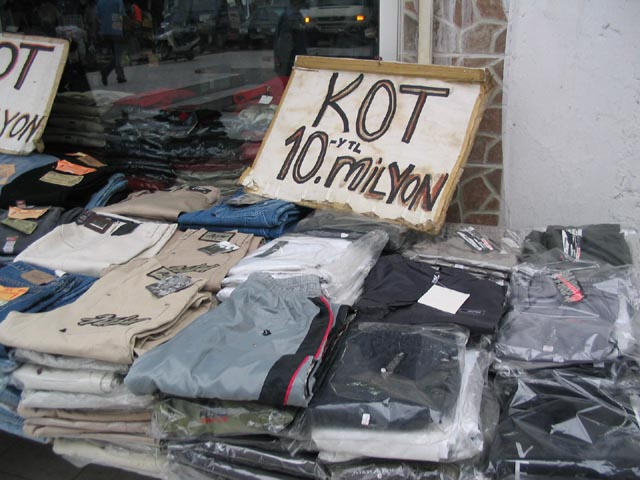 türkischer Bazar greift zu letzten Mitteln...