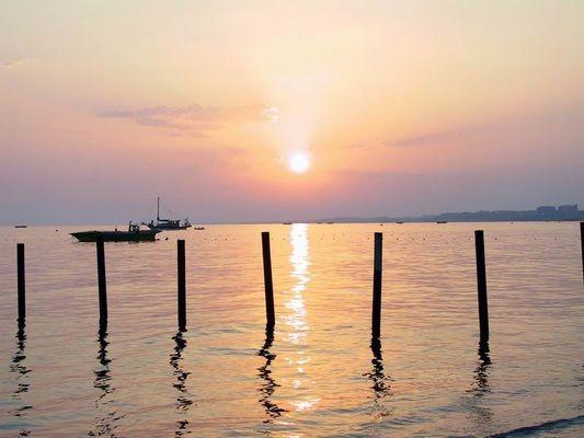 Türkischer Sonnenuntergang