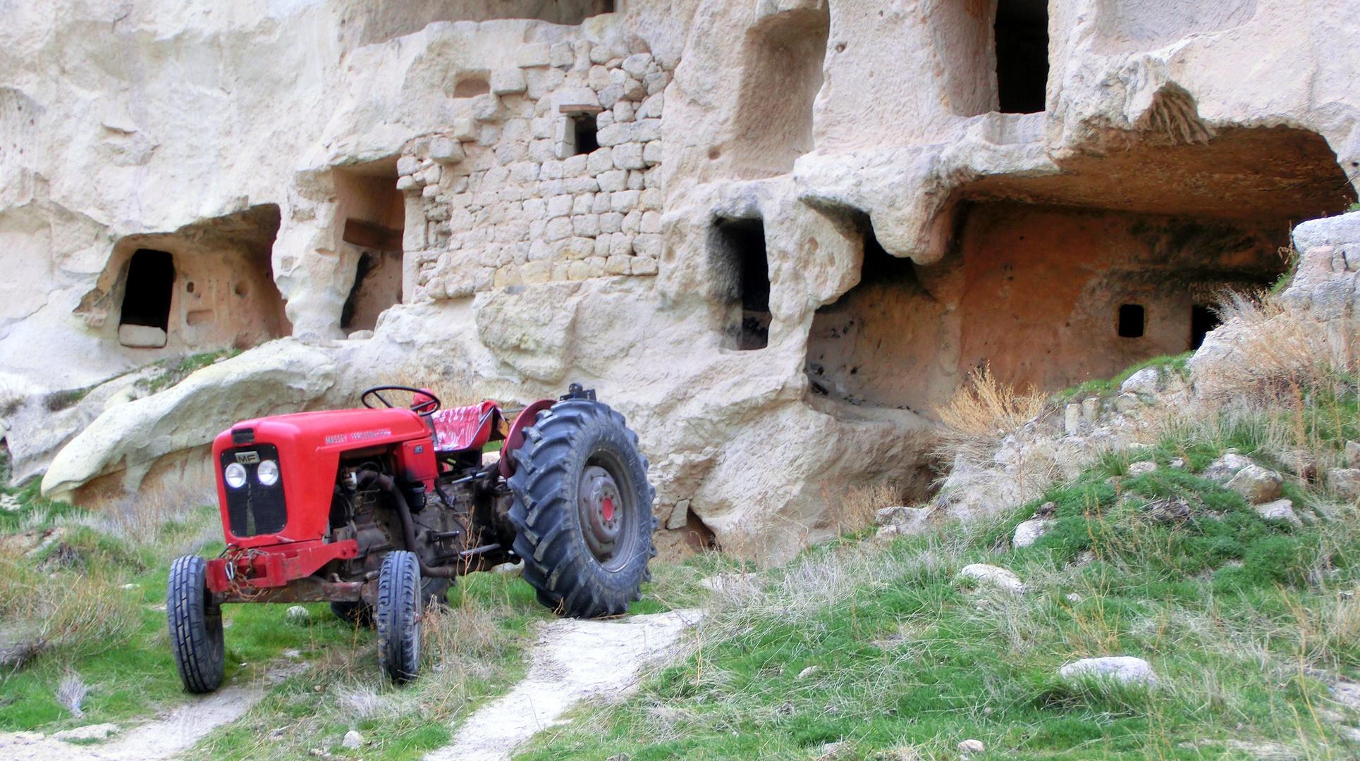 Türkischer Traktor