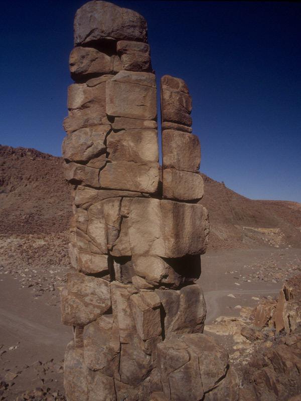 """""""Türmchen"""" in der Wüste"""