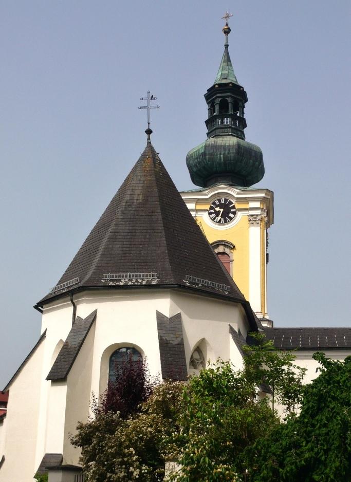 Türme der Pfarrkirche Gmunden