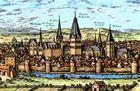 Tuerme über den Daechern der Stadt Soest [2]