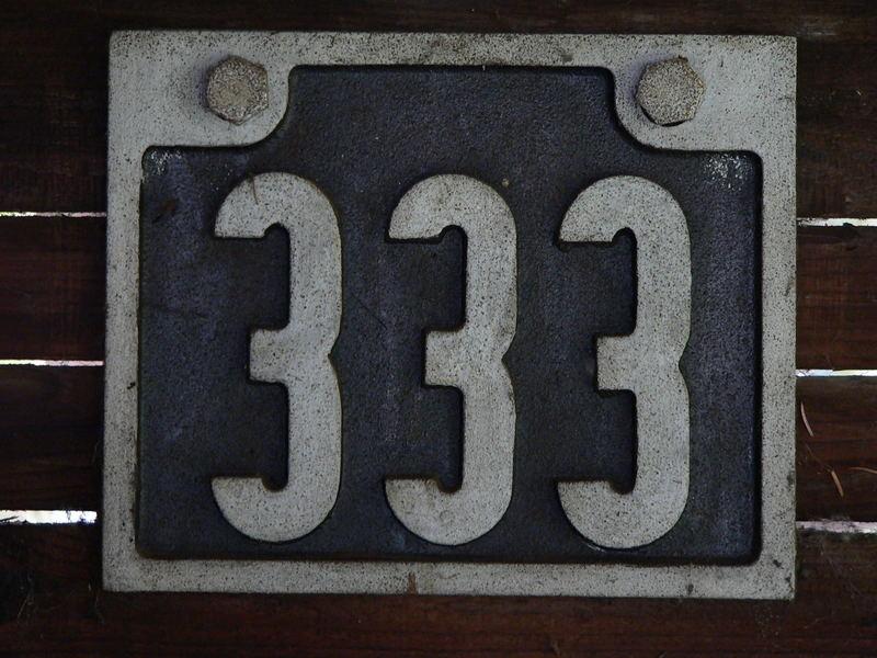 Türschild von der Kokerei Krupp Rheinhausen