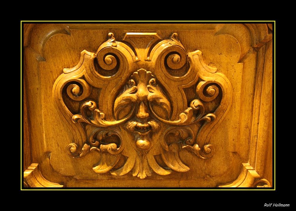 Türschnitzereien / talla de puerta I