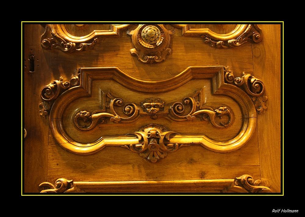 Türschnitzereien / talla de puerta II