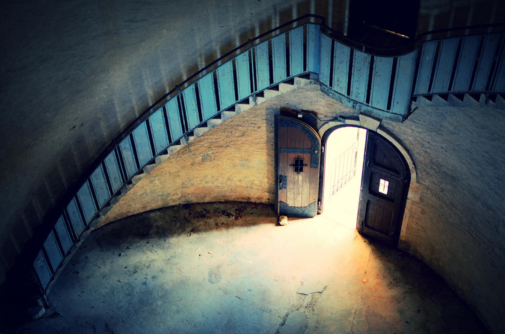 Tür/Treppe