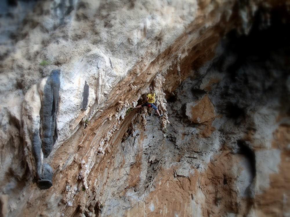 Tufa Climbing