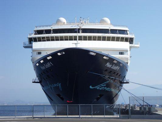 TUI MeinSchiff1 in Ajaccio