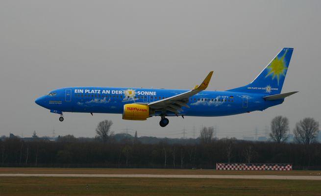 TUIfly Boeing 737-8K5 Die Glücksbring Airline