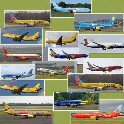 Tuifly Collage
